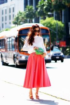 HallieDaily-Peach-Full-Skirt-and-Silk-_1